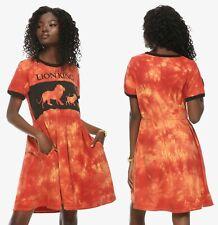 new Her Universe Disney The Lion King tie-dye ringer dress official XS S M L XL