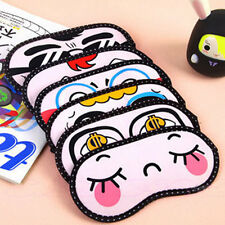 New Cute Sleeping Eye Mask Blindfold Shade Travel Aid  Sleep Goggles Eye Patch