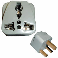 AC Adaptor Converts USA to UK United Kingdom Grounded Outlet Travel Plug Adapter