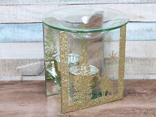 Winter Wonderland Brillo del oro Calentador de Aceite Quemador De Navidad