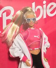 2018 50th Anniversary Puma Barbie doll NRFB made to move body