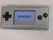 F340 Nintendo Gameboy micro SP console Silver Japan x