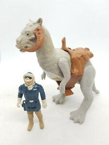 Original Vintage Star Wars 1979 hoth Han Solo Figure Open Belly Tauntaun saddle