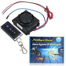 Motorcycle Motorbike Anti-theft Security Alarm System with Remote Control Engine