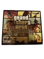 Grand Theft Auto San Andreas Game For PC - Rated M - NEW