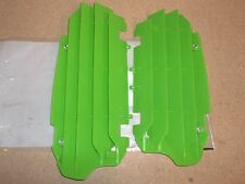 New Green Radiator Guards Covers Grills Kawasaki KX250F KX 250F 2010 2011-2016