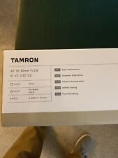 Tamron SP 15-30mm f/2.8 Di VC USD G2 Wide-Angle Zoom Lens for Nikon F - Black...