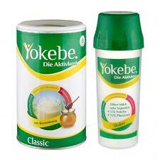 (37,86€/1kg) Yokebe Aktivkost Yokebe Classic Pulver - Starterpaket mit Shaker