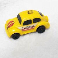 Vintage Tonka 1970s 80s Ladybug Plastic Toy Push Pump Car #6 Yellow Bug Japan