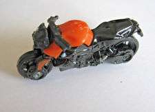 Hot Wheels BMW K 1300 R Motorcycle Black and Orange Sport Bike