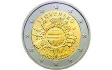 "SLOWAKIJE SPECIALE 2 EURO 2012 UNC:  ""10 JAAR EURO"""