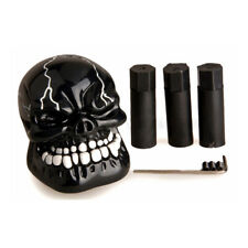 Black Car Truck Shifter Model Manual Gear Stick Lever Knob Universal Skull