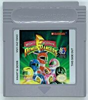 Mighty Morphin Power Rangers (Nintendo Game Boy, 1994) Game and Manual