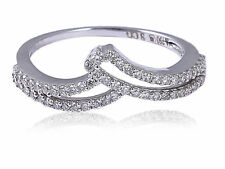 0.30 Cts Round Brilliant Cut Diamonds Anniversary Ring In Fine Hallmark 18K Gold