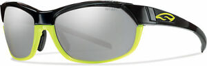 Smith Optics Pivlock Overdrive Sunglasses Black Neon Frame 3 Carbonic TLT Lenses