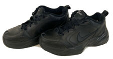 Nike Air Monarch 415445-001 Men's Size 7.5 Leather Athletic Shoes Black