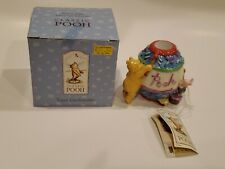 Disney Classic Pooh - Pooh & Piglet Taper Candle Holder Easter . New Midwest.