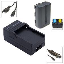 Akku + Ladegerät für SONY SLT-A57, A58, A65, A77, A77 II - NP-FM500H NP-FM500-H