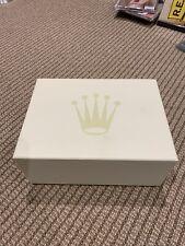 Rolex Watch authentic presentation box genuine Mint condition
