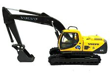 HO GAUGE VOLVO CONSTRUCTION HYDRAULIC EXCAVATOR -  NEW DIECAST IN DISPLAY CASE