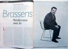 Nouvel Obs 2011: GEORGES BRASSENS_NOLWENN LEROY_YAZMINA REZA_MARINE LE PEN