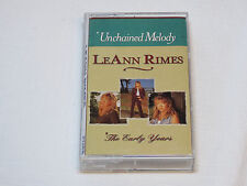 LeAnn Rimes Unchained Melody The Early Years Cassette Tape D4-77856 Curb Records