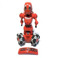 """WowWee Red Tribot 15"""" Interactive Talking Robot & Remote Tested 1/18/20 Works"""