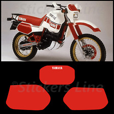 kit adesivi Tenerè XT600Z TABELLE Rosse stickers xt tenere xt600 z 1VJ 1986