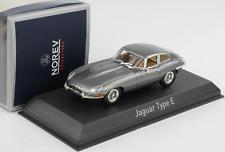 JAGUAR E-TYPE Coupè 1964 Gunmetal Grey 1/43 270061 Norev