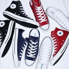 Casual Men Women Canvas Shoes Low Top High Top Chuck Taylor Sneakers Trainers AU