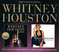 Whitney Houston Live & ultim Collect. (Best of) ultimat. Edition 2 CD NEUF