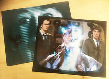 MAUREEN LIPMAN 2x SIGNED 10x8 PHOTOS 'The Wire' DOCTOR WHO David Tennant