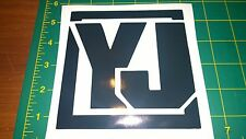 Jeep YJ Wrangler - Vinyl Decal for Jeep