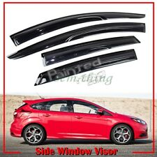 Fit For Ford Focus 4D Hatchback 3rd M Type Side Window Visor Sun Rain Guard 18