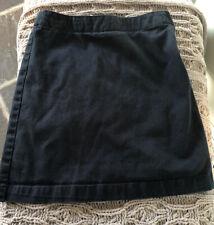 Girls Lands End Size 7s (7 slim, 7-8 Yrs) Navy Skort School Uniform