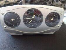 Quartz Analog Alarm Clock Thermometer & Hygrometer Weather Clock