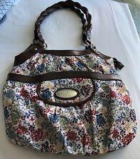 Rosetti Floral Handbag Satchel Pre-Owned EUC