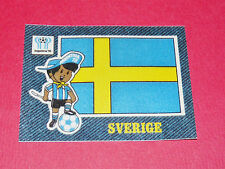 PANINI FOOTBALL 1978 ECUSSON JEAN DENIM SVERIGE ARGENTINA 78 WC WM MUNDIAL
