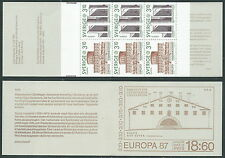 1987 EUROPA SVEZIA LIBRETTO MNH ** - VS