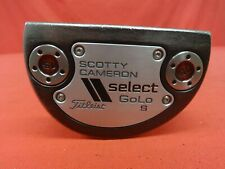 "TITLEIST SCOTTY CAMERON Select Golo S Putter 34"" RH Right Handed w/ Head Cover"
