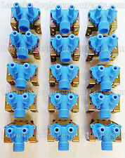 15 PACK DEXTER WASHER 2 WAY WATER VALVE 110v PART # 9379-183-001 NEW