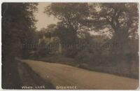 Wood Lane Stanmore, Middlesex 1918 RP Postcard B849