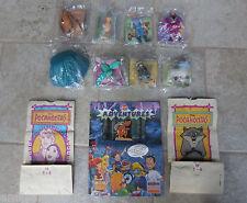 Disney Pocahontas Burger King 1995 Kids Meal Toys Complete Set 8 MIP Bags Flyer