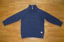 eba5adc65a H&M Edler Baumwollpullover Größe 98/104 top Zustand Strickpullover Pullover  blau