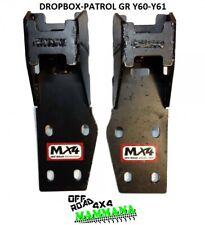 Coppia Piastre Riposizionamento Puntoni/Dropbox - Mx4 NISSAN PATROL GR Y60-Y61
