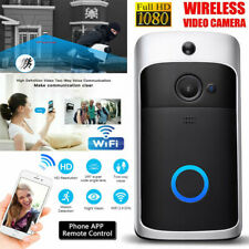 Two-Way Door Bell WiFi Wireless Video PIR Doorbell Talk Security Smart HD Camera