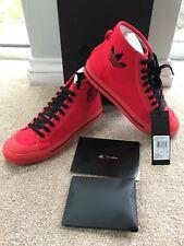 Raf Simons Adidas Matrix Spirit High Top Trainers Uk 8 Eu 42 Red/Black £200 New
