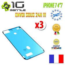 Pour iPhone 7 - Lot 3x Joint étanchéité adhésif autocollant Vitre/Ecran/LCD