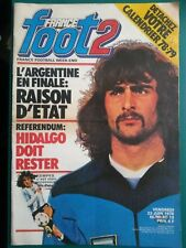 Foot 2 1978 Football Argentine Mario Kempes Michel Hidalgo Cahuzac Baratelli