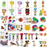 For Dog Cat Toy Play Funny Pet Puppy Chew Squeaker Squeaky Plush Sound Cute Gift